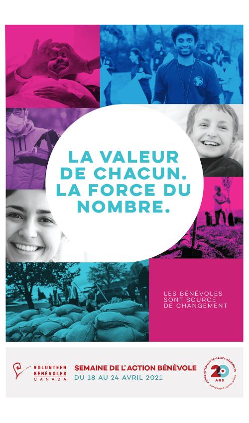 La Semaine de l'action bénévole 2021