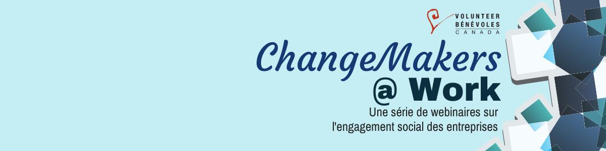 Une série de webinaires sur  l'engagement social des entreprises