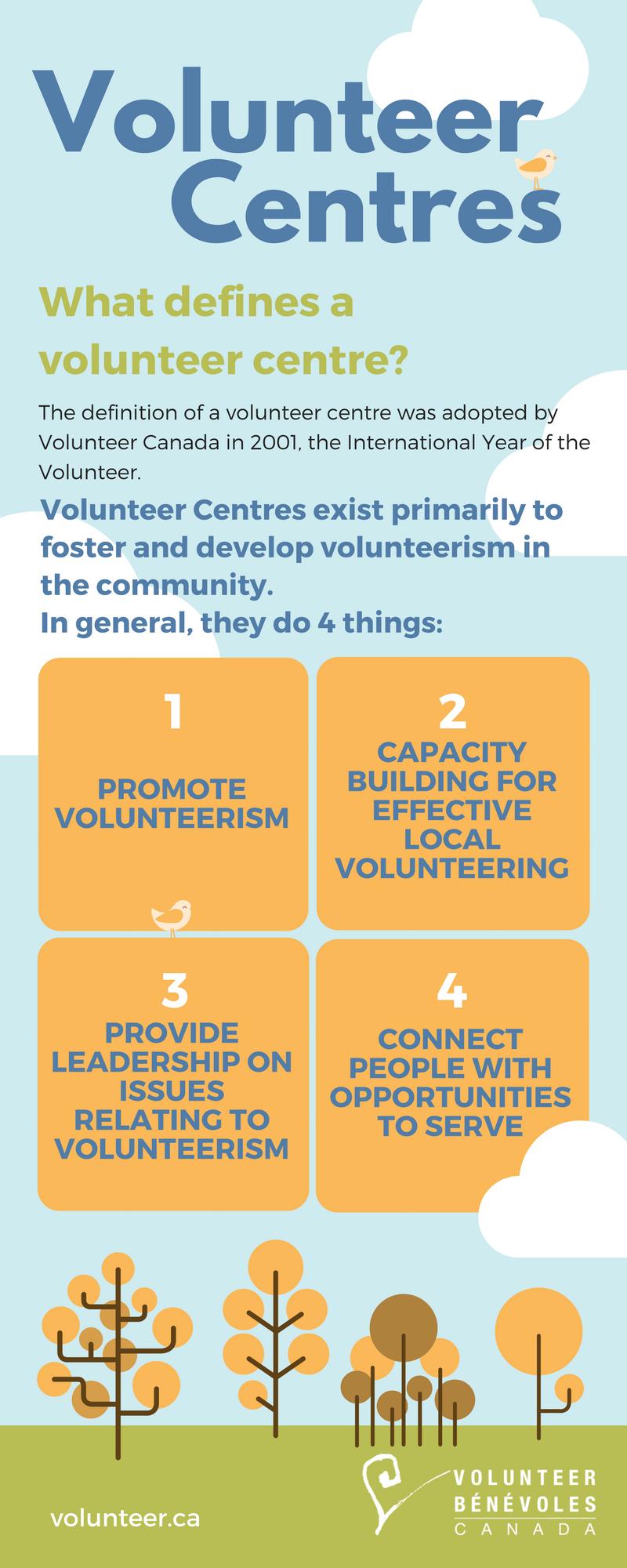 Volunteer Centres - I Want to Volunteer - Volunteer Canada