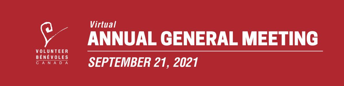 AGM 2021: September 21