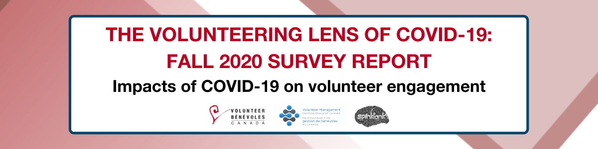 The Volunteering Lens of COVID19 Fall Survey Report