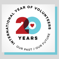 International Year of Volunteers - 20th anniversary